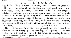 Sep 22 - Pennsylvania Gazette Slavery 2