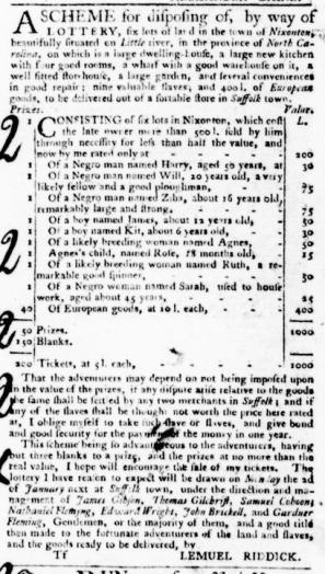 Sep 22 - Virginia Gazette Purdie and Dixon Slavery 8