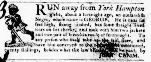 Sep 22 - Virginia Gazette Purdie and Dixon Slavery 9