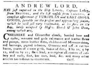 Sep 6 - 9:6:1768 South-Carolina Gazette and Country Journal Page 3