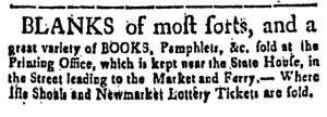 Oct 21 - 10:21:1768 Page 3 New-Hampshire Gazette